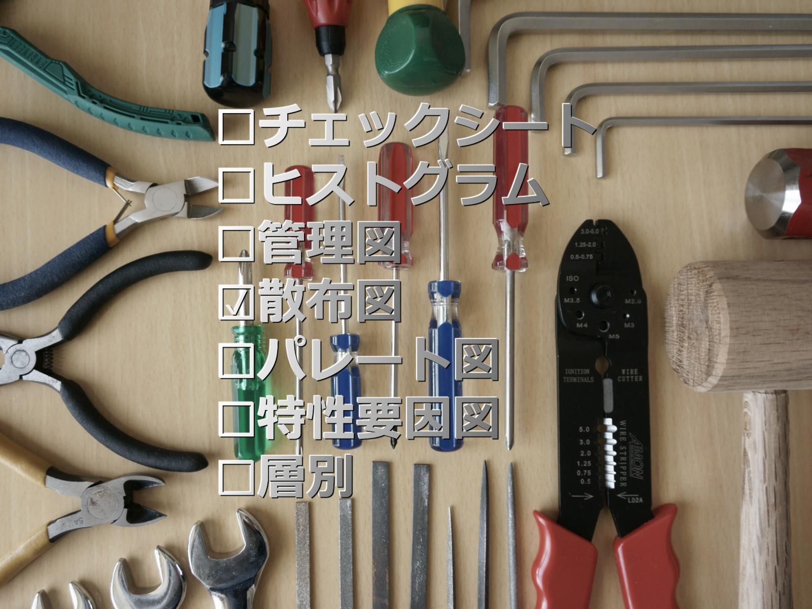 第155話|誰でも使えるQC7つ道具その2(散布図)