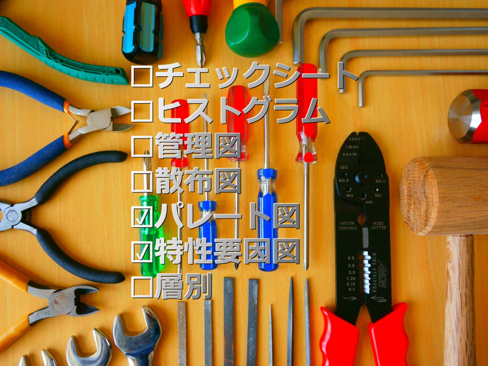第156話|誰でも使えるQC7つ道具その3(パレート図と特性要因図)
